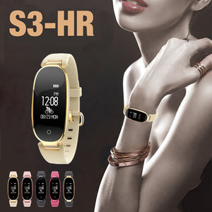 Bluetooth Waterproof S3 Smart Watch Fashion Women Ladies Heart Rate Fitness Tracker S3 Smartwatch for Android IOS