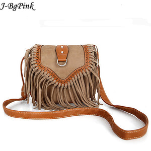Bohemian bag Boho Free Spirit Tassel Cross Body Purse Retro Hippie Designer Women's