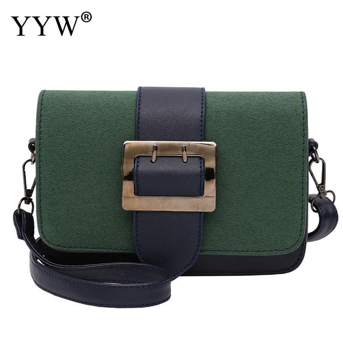 Brand Luxury Clutch Women'S Pu Leather Crossbody Bag For Women Classic Baguette Bags Green Gray Lady'S Messenger Shoulder Bag