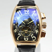 Men's Skeleton Automatic Mechanical Men Watches Top Brand Luxury Military Sport