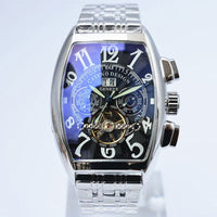 2020  Watch Men's Skeleton Automatic Mechanical Men Watches Top Brand Luxury