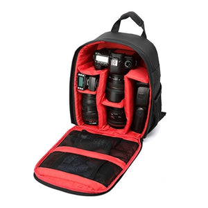 Camera Bag Waterproof DSLR Camera Backpack for Canon Nikon Sony DSLR Cameras Lens Flashes Tripod Other Accessories 2018 New