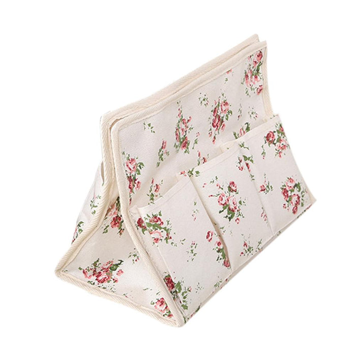 Cloth Storage Tissue Box Multi-functional Cotton Tissue Bag Rose/cloud Home Storage Hanging Pocket Dormitory Bedside Storage