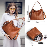 Cobbler Legend Vintage Handbags for Women Genuine Leather Shoulder Bag Female Crossbody Hobos Bag Ladies Tote 2019 Designer