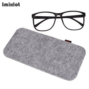 Colorful Sunglasses Case Organizer Bag For Women Men Glasses Box Felt Sunglasses Bag Eyeglasses Cases Eyewear Accessories