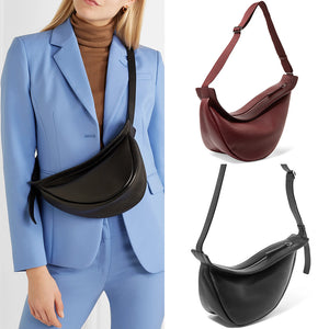 Custom Bag Designer Slouchy Banana Slant Brassiere Walking Show Single Luxury Handbags Women Bags Designer  Pu Leather ins hot