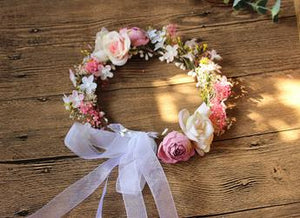 Customized Headband Flower Headband Starry Garland Seaside Vacation Head Ornaments Women Hair Accessories