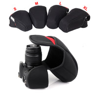 DSLR Camera Inner Soft Bag Case For Canon 200D 800D 1200D 600D 750D 700D 100D 1300D 80D 760D 1500D 550D 1100D 650D 7DMII 5D3 6D