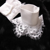 Decorated Cuff Fake sleeves autumn and winter wild sweater decorative