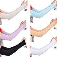 ELENXS 2 Pcs Cooling Arm Sleeves For Running Cycling Basketball Arm