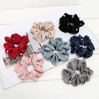 Elasticity Scrunchies New Hot Ponytail Holder Hairband Hair Rope Cute