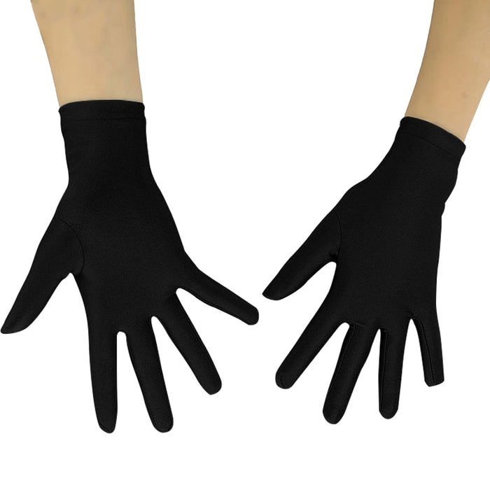Ensnovo Adult 10 inch Wrist Length Lycra Spandex Full Finger Stretchy
