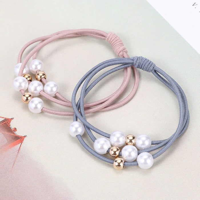 Fashion 1 pcs Women Elegant Elastic Hair Bands Ponytail Holder Rubber