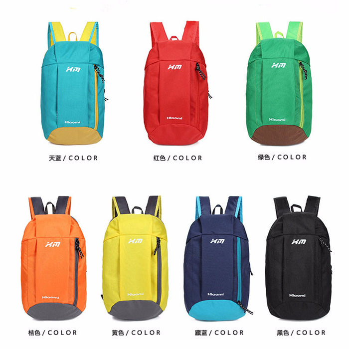Fashion Bag Men Women Sport Oxford Foldable 10L Cycling Backpack Fitness Training Running Hiking Bag Travel Outdoor Rucksacks