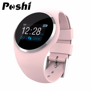 Fashion Bluetooth Lady Smart Watch Women Fitness Blood Oxygen Heart Rate Monitor Information Push Smartwatch Support Android IOS