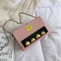 Fashion Mini Flap Bag Personality Cute Pig Small Women Box Shoulder Bag Casual Temperament Chain Crossbody Bag Women's Bags Fashion Bags