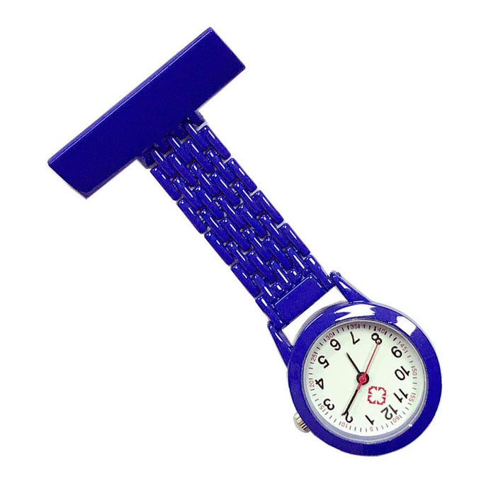 Fashion Nurse Quartz Watch Brooch Pocket Brooch Clip Medical Nurse Pocket Nursing Watch HSJ88