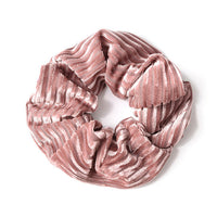 Fashion Striped Large Scrunchie For Women Adult Hair Accessories