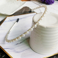 Fashion Wedding Birthday New Crystal Pearl Hair Bands Headband Hair Accessories Ornaments Head Wear Hoop for Women Girls