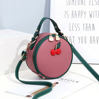 Fashion Women Bags 2019 New Luxury Cherry Handbags Women Round Shoulder Bag Female Designer Crossbody Bag for Women Bolsos Mujer