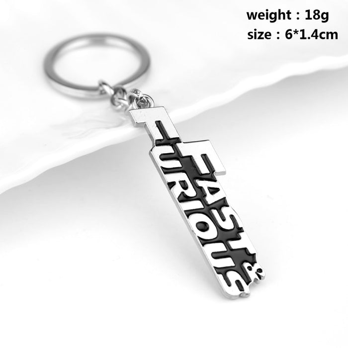 Fast & Furious Key Chain Men Women Key Rings Car Keychain Gift For Man And Woman High Quality Jewelry Movie Key Holder Souvenir