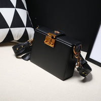 Genuine leather casual travel Box bag Vintage messenger Doctor bag colorful bucket bag retro Satchel real Leather Crossbody bag