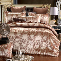 New Bedding Set  Duvet Cover Bed Linen Comforter Golden coffee Quilt Cover High Quality 2020