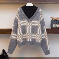 Half Turtleneck Sweater Autumn Winter Warm Knitted Sweater Casual Women Pullover 2020