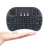 3 colour I8 Mini Wireless Keyboard 2.4Ghz English Russian Hebrew Version i8 Air Mouse with Touchpad Remote Control Android TVBox