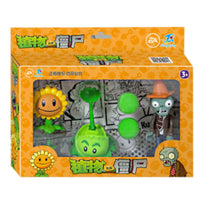 ROHDE 1 Set of Plants vs Zombie Children Dolls Sunflower Launch 686 Series Educational