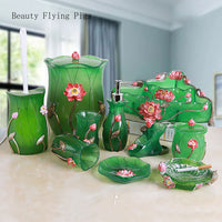 Direct marketing new creative bathroom set bathroom mug creative bathroom wash storage decoration ornaments wedding gifts