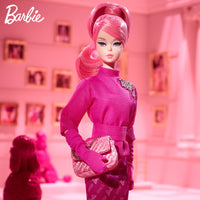 Original Genunie Barbie Doll Limited Collection 60th Anniversary Classic Beauty Memorial Doll Gold Label Girls Gifts FXD50