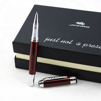 JINHAO 250 Luxury Metal Roller Ball Pen 0.7mm Silver /Gold Clip Office Business Writing Ballpoint Pens Gifts Stationery Supplies