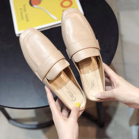 SLHJC 2020 New Fashion Square Toe Mules Slippers Women Spring Summer Fashion Candy Color Low Heels Sandals Slides Holiday Shoes