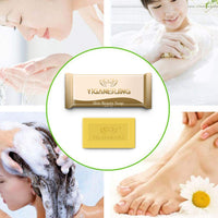 Handmade Sulfur Soap Oil-control Pore Acne Treatment Blackhead Pimple Remover Soap 7g Whitening Cleanser Moisturizing Skin Care