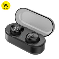 Riilm X90 true wireless stereo earphone bluetooth earbuds IPX4 sweaterproof headset sport headphone with mic for handsfree
