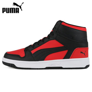Original New Arrival   PUMA Rebound LayUp SL Unisex  Skateboarding Shoes Sneakers