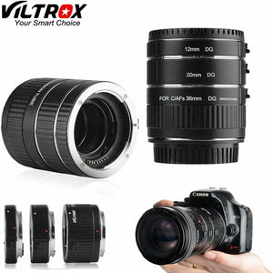 Viltrox Auto-focus AF confirming Macro Extension Tube Ring Macro Adapter  Set DG