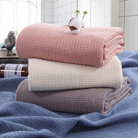 Knitted Decorative Throw Blanket Sofa Photography Props Super Soft Blanket Cotton Aircraft 105x150cm