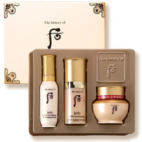 Korea top brand makeup High-end Royal Anti-Aging first care essence, self generating serum face cream sample set cosmetics 24ml