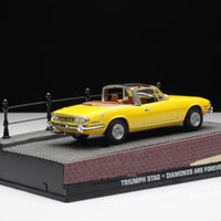 1/43 Scale classic alloy 007 movie British simulation static car model  metal diecast Triumph stag model toys kids collections