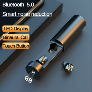 B9 TWS Bluetooth Earphone 5.0 Wireless 8D HIFI Sport Earphone MIC Earbuds Gaming Music Headset For Xiaomi Samsung Huawei