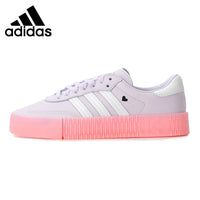 Original New Arrival Adidas Originals SAMBAROSE W Women's Skateboarding Shoes Sneakers