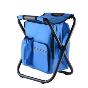 Portable Fishing Chairs Outdoor Travel Folding Backpack Chair Hiking Beach Backpacks Camping