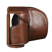 Leather Camera Bag Case Cover Pouch For Sony A5000 A5100 NEX 3N camera backpack mochila fotografia Wholesale supplier