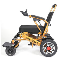 folding electric wheelchair for the elderly people disabled wheelchair