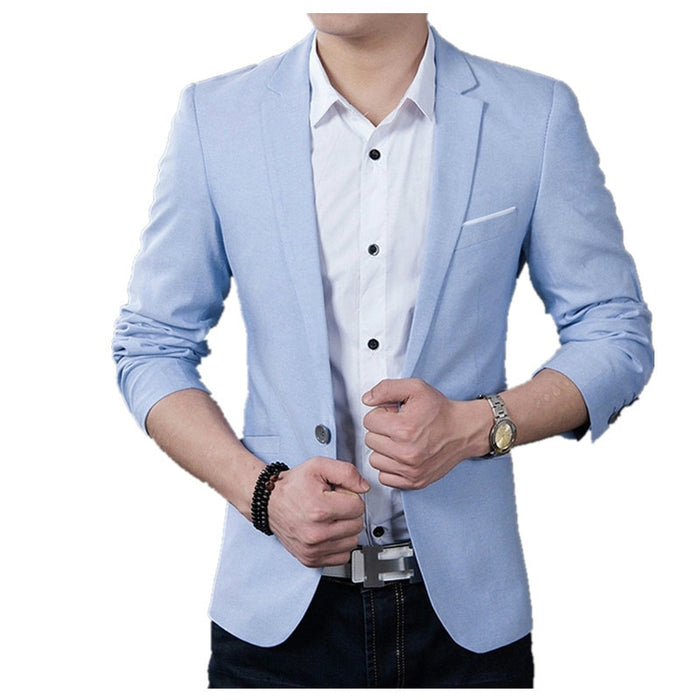 Brand New Men Blazer 2020 Casual Business Wedding Party Suits Men Slim Fit Suit jacket