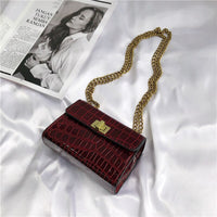 Mini Stone Pattern Crossbody Bags For Women 2019 New Quality PU Leather Ladies Designer