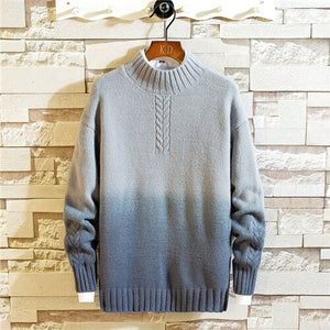 Fashion Autumn Winter Slim Fit Mens Sweaters for O-neck Casual Pullover Men Sweater
