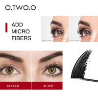 Makeup 4D Silk Fiber Lash Mascara Waterproof Mascara Eyelash Extension Black Thick Lengthening Eye Lashes Cosmetics Moisturizer